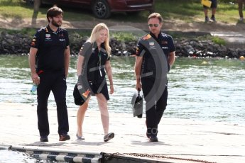 World © Octane Photographic Ltd. Formula 1 - Canadian GP - Paddock. Christian Horner - Team Principal of Red Bull Racing. Circuit Gilles Villeneuve, Montreal, Canada. Saturday 9th June 2018.
