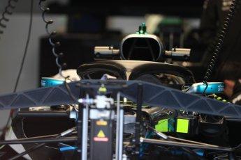 World © Octane Photographic Ltd. Formula 1 – Canadian GP - Thursday Pit Lane. Mercedes AMG Petronas Motorsport AMG F1 W09 EQ Power+. Circuit Gilles Villeneuve, Montreal, Canada. Thursday 7th June 2018.