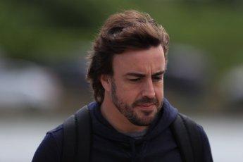 World © Octane Photographic Ltd. Formula 1 – Canadian GP - Paddock. McLaren MCL33 – Fernando Alonso. Circuit Gilles Villeneuve, Montreal, Canada. Thursday 7th June 2018.
