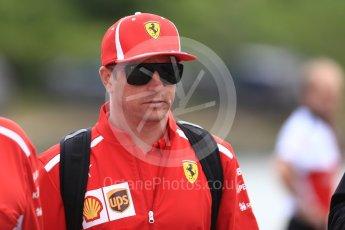 World © Octane Photographic Ltd. Formula 1 – Canadian GP - Paddock. Scuderia Ferrari SF71-H – Kimi Raikkonen. Circuit Gilles Villeneuve, Montreal, Canada. Thursday 7th June 2018.