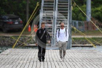 World © Octane Photographic Ltd. Formula 1 – Canadian GP - Paddock. Mercedes AMG Petronas Motorsport AMG F1 W09 EQ Power+ - Valtteri Bottas. Circuit Gilles Villeneuve, Montreal, Canada. Thursday 7th June 2018.