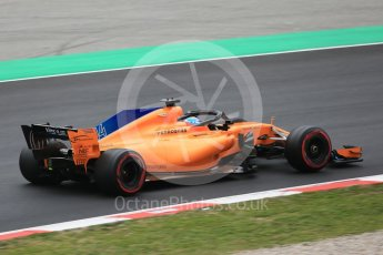 World © Octane Photographic Ltd. Formula 1 – Winter Test 1. McLaren MCL33 – Fernando Alonso. Circuit de Barcelona-Catalunya, Spain. Monday 26th February 2018.