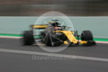 World © Octane Photographic Ltd. Formula 1 – Winter Test 1. Renault Sport F1 Team RS18 – Carlos Sainz. Circuit de Barcelona-Catalunya, Spain. Monday 26th February 2018.
