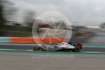 World © Octane Photographic Ltd. Formula 1 – Winter Test 2. Haas F1 Team VF-18 – Kevin Magnussen. Circuit de Barcelona-Catalunya, Spain. Thursday 8th March 2018.