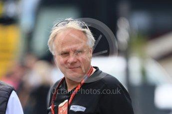 World © Octane Photographic Ltd. Formula 1 – Winter Test 2. Haas F1 Team, Team Owner – Gene Haas. Circuit de Barcelona-Catalunya, Spain. Friday 9th March 2018.