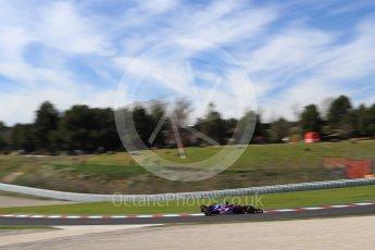 World © Octane Photographic Ltd. Formula 1 – Winter Test 2. Scuderia Toro Rosso STR13 – Brendon Hartley. Circuit de Barcelona-Catalunya, Spain. Friday 9th March 2018.