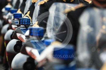 World © Octane Photographic Ltd. Formula 1 – French GP. Gendarmerie police. Circuit Paul Ricard, Le Castellet, France. Sunday 24th June 2018.