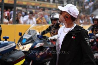 World © Octane Photographic Ltd. Formula 1 – French GP - Drivers Parade. Mercedes AMG Petronas Motorsport AMG F1 W09 EQ Power+ - Lewis Hamilton. Circuit Paul Ricard, Le Castellet, France. Sunday 24th June 2018.