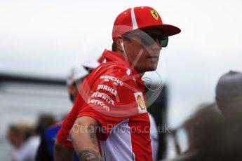 World © Octane Photographic Ltd. Formula 1 – French GP - Drivers Parade. Scuderia Ferrari SF71-H – Kimi Raikkonen. Circuit Paul Ricard, Le Castellet, France. Sunday 24th June 2018.