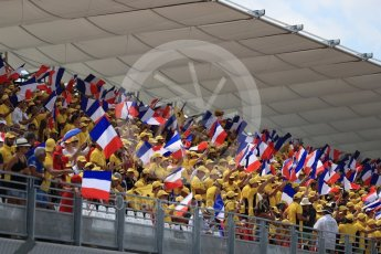 World © Octane Photographic Ltd. Formula 1 – French GP - Grid. Circuit Paul Ricard, Le Castellet, France. Sunday 24th June 2018.