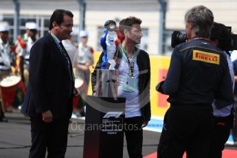 World © Octane Photographic Ltd. Formula 1 – French GP - Grid. Winners Trophy. Circuit Paul Ricard, Le Castellet, France. Sunday 24th June 2018.