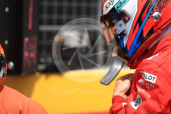 World © Octane Photographic Ltd. Formula 1 – French GP - Grid. Scuderia Ferrari SF71-H – Kimi Raikkonen. Circuit Paul Ricard, Le Castellet, France. Sunday 24th June 2018.
