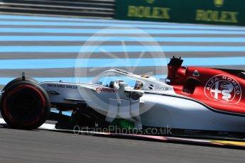 World © Octane Photographic Ltd. Formula 1 – French GP - Practice 1. Alfa Romeo Sauber F1 Team C37 – Marcus Ericsson. Circuit Paul Ricard, Le Castellet, France. Friday 22nd June 2018.