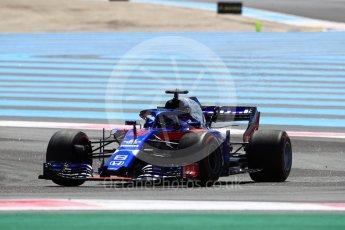 World © Octane Photographic Ltd. Formula 1 – French GP - Practice 1. Scuderia Toro Rosso STR13 – Brendon Hartley. Circuit Paul Ricard, Le Castellet, France. Friday 22nd June 2018.