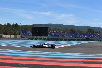 World © Octane Photographic Ltd. Formula 1 – French GP - Practice 1. Mercedes AMG Petronas Motorsport AMG F1 W09 EQ Power+ - Valtteri Bottas. Circuit Paul Ricard, Le Castellet, France. Friday 22nd June 2018.