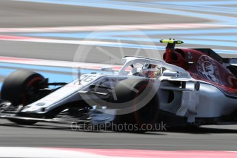 World © Octane Photographic Ltd. Formula 1 – French GP - Practice 2. Alfa Romeo Sauber F1 Team C37 – Marcus Ericsson. Circuit Paul Ricard, Le Castellet, France. Friday 22nd June 2018.