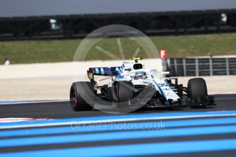World © Octane Photographic Ltd. Formula 1 – French GP - Practice 2. Williams Martini Racing FW41 – Sergey Sirotkin. Circuit Paul Ricard, Le Castellet, France. Friday 22nd June 2018.