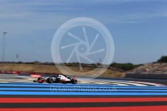 World © Octane Photographic Ltd. Formula 1 – French GP - Practice 2. Haas F1 Team VF-18 – Romain Grosjean. Circuit Paul Ricard, Le Castellet, France. Friday 22nd June 2018.