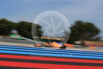 World © Octane Photographic Ltd. Formula 1 – French GP - Practice 2. McLaren MCL33 – Fernando Alonso. Circuit Paul Ricard, Le Castellet, France. Friday 22nd June 2018.