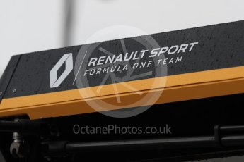 World © Octane Photographic Ltd. Formula 1 - French GP - Practice 3. Renault Sport Racing Formula 1 Team. Circuit Paul Ricard, Le Castellet, France. Saturday 23rd June 2018.
