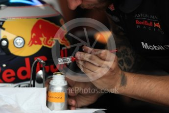 World © Octane Photographic Ltd. Formula 1 – French GP - Practice 3. Aston Martin Red Bull Racing TAG Heuer RB14 - hydrofoe. Circuit Paul Ricard, Le Castellet, France. Saturday 23rd June 2018.