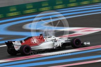 World © Octane Photographic Ltd. Formula 1 – French GP - Qualifying. Alfa Romeo Sauber F1 Team C37 – Marcus Ericsson. Circuit Paul Ricard, Le Castellet, France. Saturday 23rd June 2018.