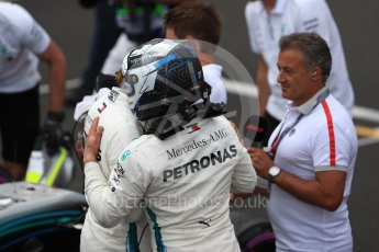 World © Octane Photographic Ltd. Formula 1 – French GP - Qualifying. Mercedes AMG Petronas Motorsport AMG F1 W09 EQ Power+ - Valtteri Bottas and Lewis Hamilton. Circuit Paul Ricard, Le Castellet, France. Saturday 23rd June 2018.
