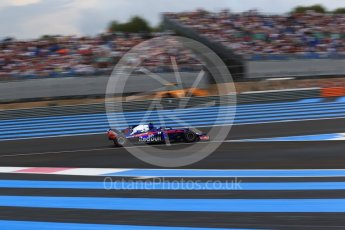 World © Octane Photographic Ltd. Formula 1 – French GP - Qualifying. Scuderia Toro Rosso STR13 – Pierre Gasly. Circuit Paul Ricard, Le Castellet, France. Saturday 23rd June 2018.