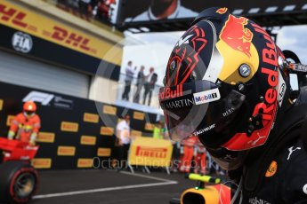 World © Octane Photographic Ltd. Formula 1 – French GP - Race Podium. Aston Martin Red Bull Racing TAG Heuer RB14 – Max Verstappen. Circuit Paul Ricard, Le Castellet, France. Sunday 24th June 2018.