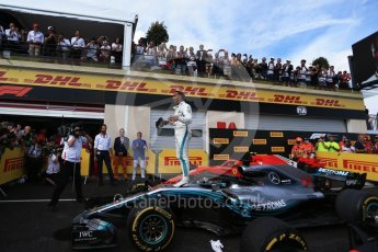 World © Octane Photographic Ltd. Formula 1 – French GP - Race Podium. Mercedes AMG Petronas Motorsport AMG F1 W09 EQ Power+ - Lewis Hamilton. Circuit Paul Ricard, Le Castellet, France. Sunday 24th June 2018.