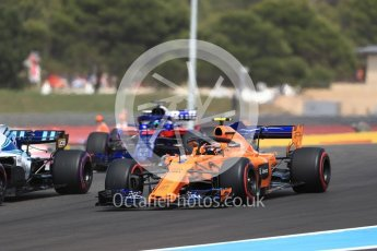 World © Octane Photographic Ltd. Formula 1 – French GP - Race. McLaren MCL33 – Stoffel Vandoorne. Circuit Paul Ricard, Le Castellet, France. Sunday 24th June 2018.