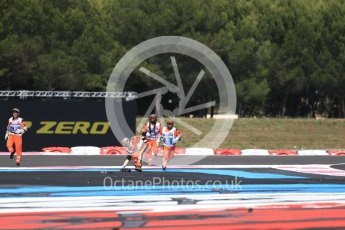 World © Octane Photographic Ltd. Formula 1 – French GP - Race. Marshals clear the circuit. Circuit Paul Ricard, Le Castellet, France. Sunday 24th June 2018.