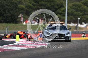 World © Octane Photographic Ltd. Formula 1 – French GP - Race. Mercedes AMG Petronas Motorsport AMG F1 W09 EQ Power+ - Lewis Hamilton leads under safety car. Circuit Paul Ricard, Le Castellet, France. Sunday 24th June 2018.