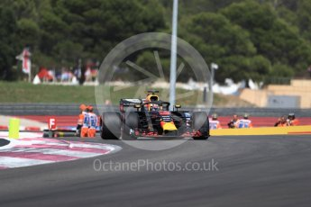 World © Octane Photographic Ltd. Formula 1 – French GP - Race. Aston Martin Red Bull Racing TAG Heuer RB14 – Daniel Ricciardo. Circuit Paul Ricard, Le Castellet, France. Sunday 24th June 2018.