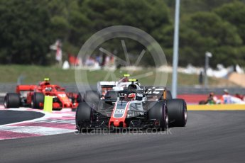 World © Octane Photographic Ltd. Formula 1 – French GP - Race. Haas F1 Team VF-18 – Kevin Magnussen. Circuit Paul Ricard, Le Castellet, France. Sunday 24th June 2018.