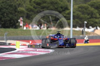 World © Octane Photographic Ltd. Formula 1 – French GP - Race. Scuderia Toro Rosso STR13 – Brendon Hartley. Circuit Paul Ricard, Le Castellet, France. Sunday 24th June 2018.