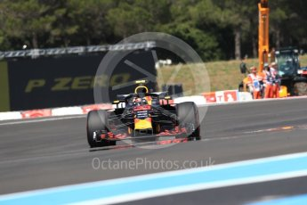 World © Octane Photographic Ltd. Formula 1 – French GP - Race. Aston Martin Red Bull Racing TAG Heuer RB14 – Max Verstappen. Circuit Paul Ricard, Le Castellet, France. Sunday 24th June 2018.