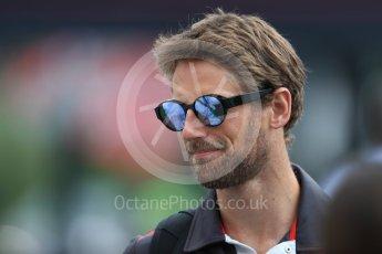 World © Octane Photographic Ltd. Formula 1 – French GP - Paddock. Haas F1 Team VF-18 – Romain Grosjean. Circuit Paul Ricard, Le Castellet, France. Saturday 23rd June 2018.