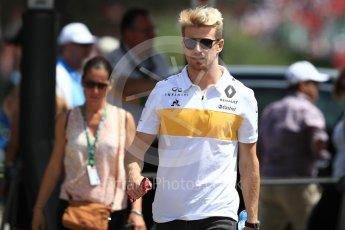 World © Octane Photographic Ltd. Formula 1 – French GP - Paddock. Renault Sport F1 Team RS18 – Nico Hulkenberg. Circuit Paul Ricard, Le Castellet, France. Sunday 24th June 2018.