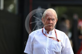 World © Octane Photographic Ltd. Formula 1 - French GP - Paddock. Helmut Marko - advisor to the Red Bull GmbH Formula One Teams and head of Red Bull's driver development program. Circuit Paul Ricard, Le Castellet, France. Sunday 24th June 2018.
