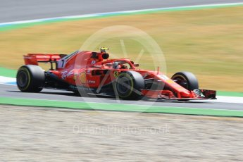 World © Octane Photographic Ltd. Formula 1 – German GP - Practice 1. Scuderia Ferrari SF71-H – Kimi Raikkonen. Hockenheimring, Baden-Wurttemberg, Germany. Friday 20th July 2018.