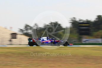 World © Octane Photographic Ltd. Formula 1 – German GP - Practice 1. Scuderia Toro Rosso STR13 – Brendon Hartley. Hockenheimring, Baden-Wurttemberg, Germany. Friday 20th July 2018.