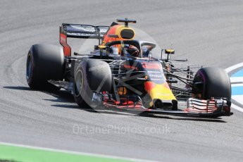 World © Octane Photographic Ltd. Formula 1 – German GP - Practice 1. Aston Martin Red Bull Racing TAG Heuer RB14 – Daniel Ricciardo. Hockenheimring, Baden-Wurttemberg, Germany. Friday 20th July 2018.