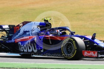 World © Octane Photographic Ltd. Formula 1 – German GP - Practice 1. Scuderia Toro Rosso STR13 – Pierre Gasly. Hockenheimring, Baden-Wurttemberg, Germany. Friday 20th July 2018.