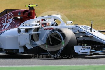 World © Octane Photographic Ltd. Formula 1 – German GP - Practice 1. Alfa Romeo Sauber F1 Team C37 – Charles Leclerc. Hockenheimring, Baden-Wurttemberg, Germany. Friday 20th July 2018.