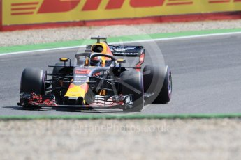 World © Octane Photographic Ltd. Formula 1 – German GP - Practice 1. Aston Martin Red Bull Racing TAG Heuer RB14 – Daniel Ricciardo. Hockenheimring, Baden-Wurttemberg, Germany. Friday 20th July 2018.