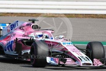 World © Octane Photographic Ltd. Formula 1 – German GP - Practice 1. Sahara Force India VJM11 - Sergio Perez. Hockenheimring, Baden-Wurttemberg, Germany. Friday 20th July 2018.