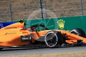 World © Octane Photographic Ltd. Formula 1 – German GP - Practice 2. McLaren MCL33 – Stoffel Vandoorne. Hockenheimring, Baden-Wurttemberg, Germany. Friday 20th July 2018.