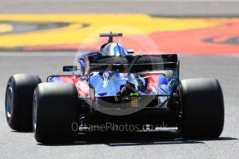 World © Octane Photographic Ltd. Formula 1 – German GP - Practice 2. Scuderia Toro Rosso STR13 – Brendon Hartley. Hockenheimring, Baden-Wurttemberg, Germany. Friday 20th July 2018.
