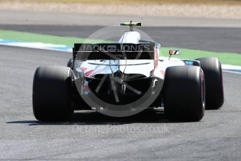 World © Octane Photographic Ltd. Formula 1 – German GP - Practice 2. Haas F1 Team VF-18 – Kevin Magnussen. Hockenheimring, Baden-Wurttemberg, Germany. Friday 20th July 2018.